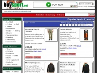 Sport and fitness merchandise, equipment and more at buySport.net