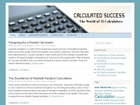 calculatedsuccess.net Thumbnail