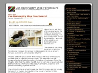 canbankruptcystopforeclosures.net Thumbnail