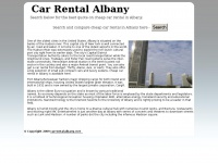 carrentalalbany.net Thumbnail