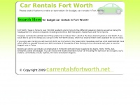 carrentalsfortworth.net Thumbnail
