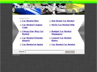 carrentalsingapore.net Thumbnail