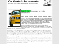 carrentalssacramento.net Thumbnail