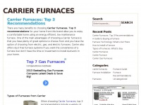 carrierfurnaces.net Thumbnail