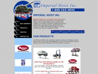 Imperial Hoist Inc lifts automotive lifting equipment Rotary lifts heavy duty lifts auto service