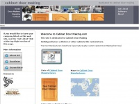 cabinetdoormaking.net Thumbnail