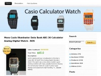casiocalculatorwatch.net Thumbnail