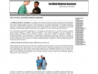 Certified-medical-assistant.net