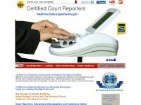 Certifiedcourtreporting.net