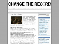 Changetherecord.net