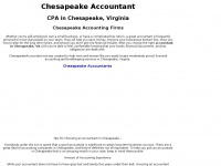 Chesapeakeaccountant.net