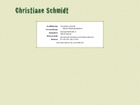 Christiane-schmidt.net