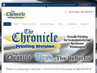 chronicleprinting.net Thumbnail