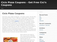 cicispizzacoupons.net