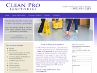 cleanprojanitorial.net