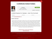 Commonringtones.net