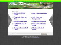customgolfclubs.net Thumbnail