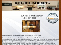 customkitchencabinetry.net Thumbnail