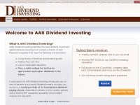 AAII: Dividend Investing