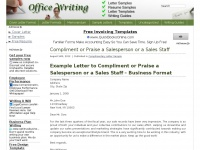 Officewriting.com - Free Sample Letters, Writing Tips for All Business & Technical Writing