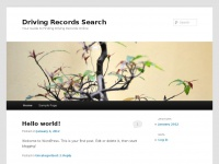 Drivingrecordsearch.net