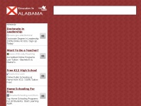 educationinalabama.net Thumbnail