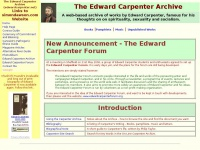 edwardcarpenter.net Thumbnail