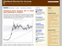 Dividend Stocks for Income - Generate a current and growing income stream with stocks that pay you to own them