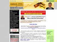 Gold Stock Analyst - Top 10 Gold Stocks - Subscription Newsletter