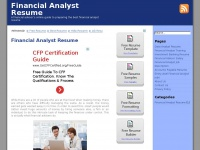 financialanalystresume.net