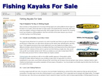 fishingkayaksforsale.net Thumbnail