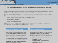 information-security-policies-and-standards.com