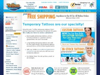 Tattoo Sales: Custom and Stock Temporary Tattoos - Buy Direct From the Source