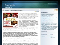Roulette Tricks - Learning Roulette Tricks