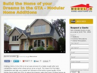 Build the Home of your Dreams in the GTA - Modular Home Additions