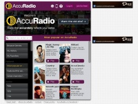 AccuRadio online radio - Better radio for your workday