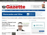 lawgazette.co.uk Thumbnail