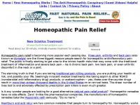 homeopathicpainrelief.net