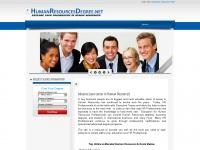 Humanresourcesdegree.net