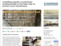 Installing Granite Countertops: not DIY - Interstone Marble and Granite Ltd.