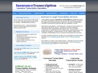 insurancetranscription.net