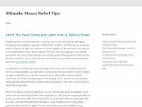 ultimatestressrelieftips.com