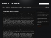 Iwasacubscout.net