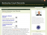 kentuckycourtrecords.net Thumbnail