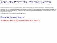kentuckywarrants.net Thumbnail