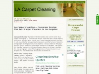 lacarpetcleaning.net