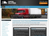 Capitalsolutionsonline.net - Commercial Truck Financing - Bad Credit - Capital Solutions