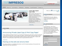 TST/Impreso, Inc | paper manufacturer, engineering rolls, continuous paper, computer paper, laser printer paper, copier paper, point of sale rolls