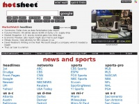 Hotsheet.com - Hot Sheet Portal and Web Directory | Instant News Headlines | Unique Multi Search | Travel Sites | Research | Mobile Links Directory