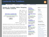 leotardsfortoddlers.net
